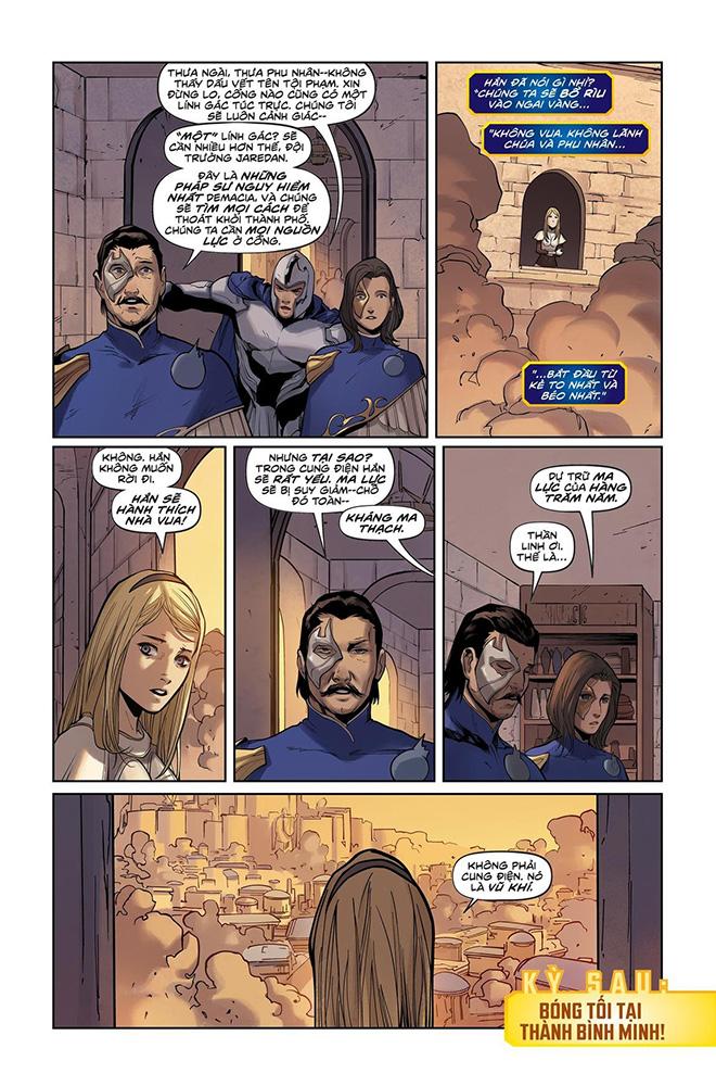 Truyện tranh Liên Minh Huyền Thoại - Lux Kỳ 3 - Trang 22