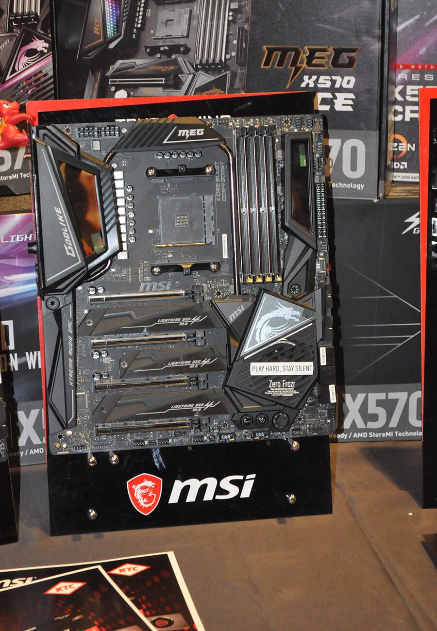 Bo mạch chủ X570 mới ra mắt từ MSI