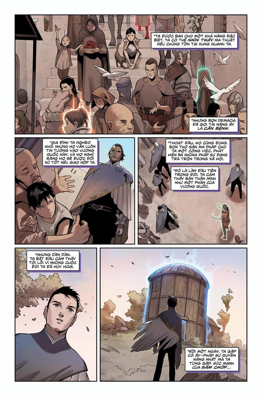 Truyện tranh Lux Kỳ 2 - Trang 7