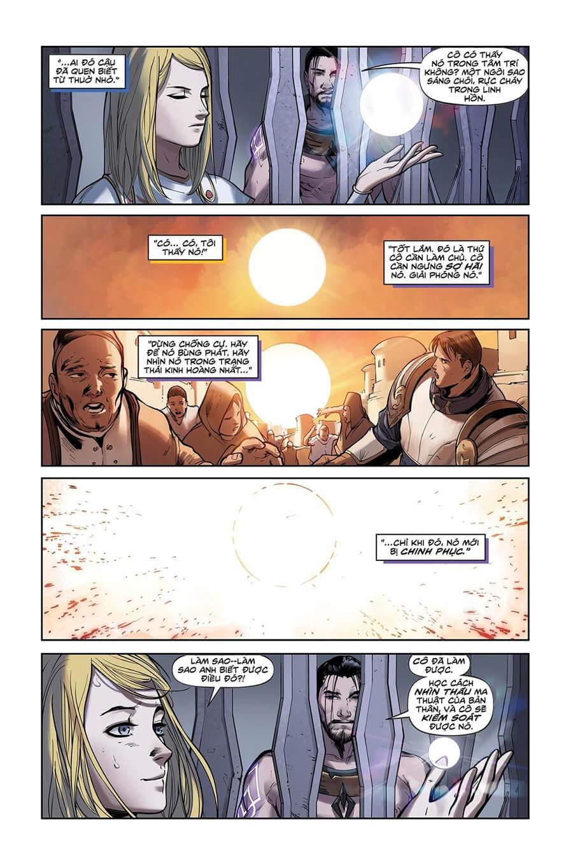 Truyện tranh Lux Kỳ 2 - Trang 12