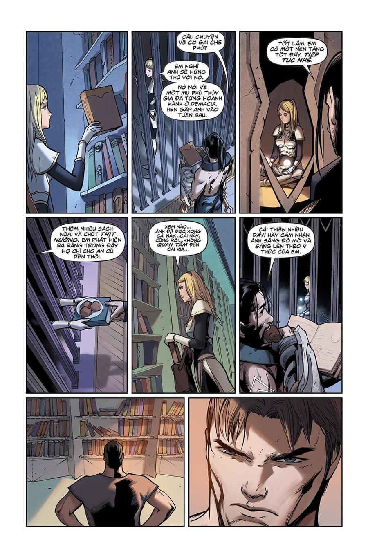 Truyện tranh Lux Kỳ 2 - Trang 15