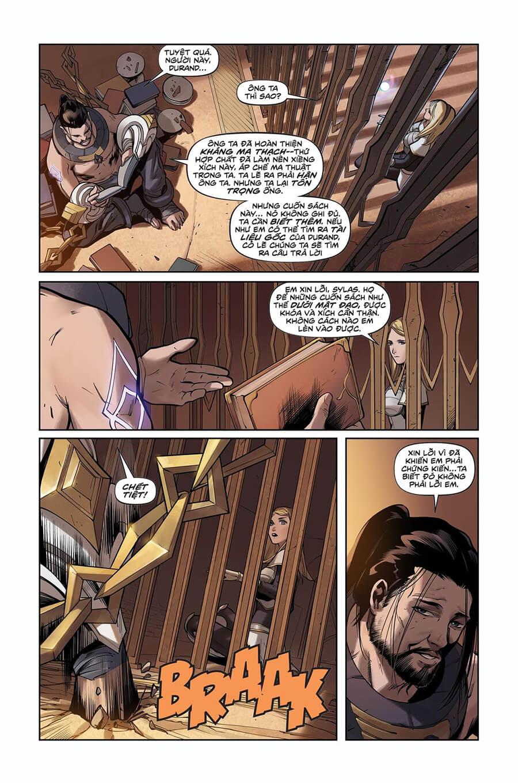 Truyện tranh Lux Kỳ 2 - Trang 16