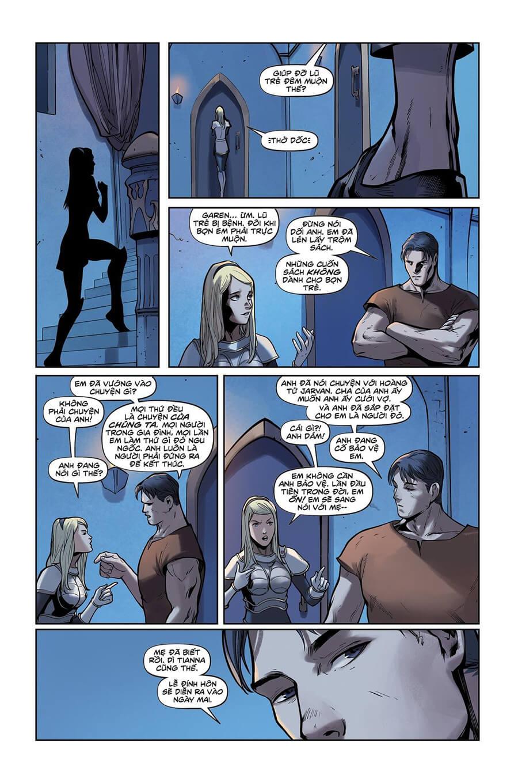 Truyện tranh Lux Kỳ 2 - Trang 17
