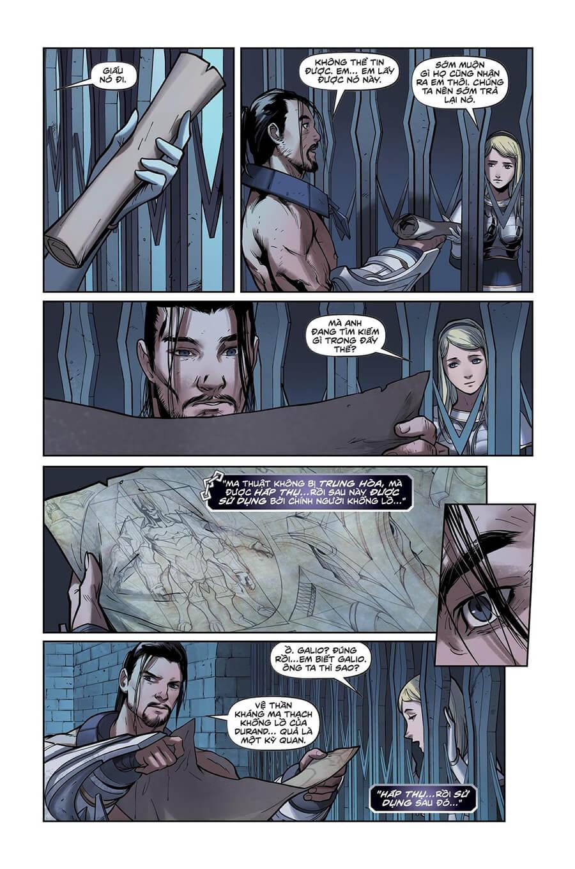 Truyện tranh Lux Kỳ 2 - Trang 20