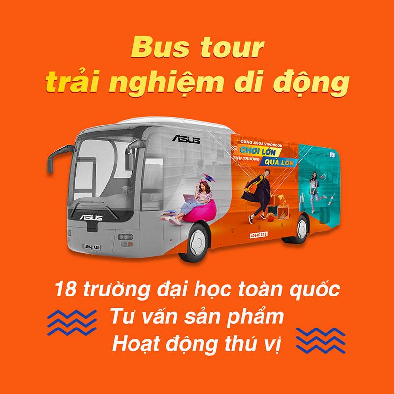 ASUS Bus tour