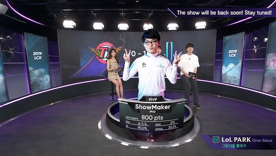 ShowMaker là MVP ván 1.