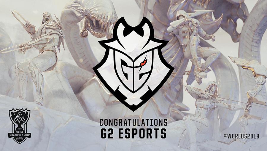 G2 Esports là đội đầu tiên có mặt tại CKTG 2019