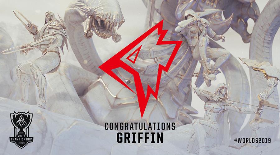 Griffin là đội tuyển Liên Minh Huyền Thoại Hàn Quốc đầu tiên có vé tham dự CKTG 2019.
