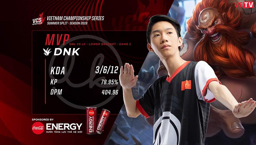 DBL vs LK Game 2 MVP
