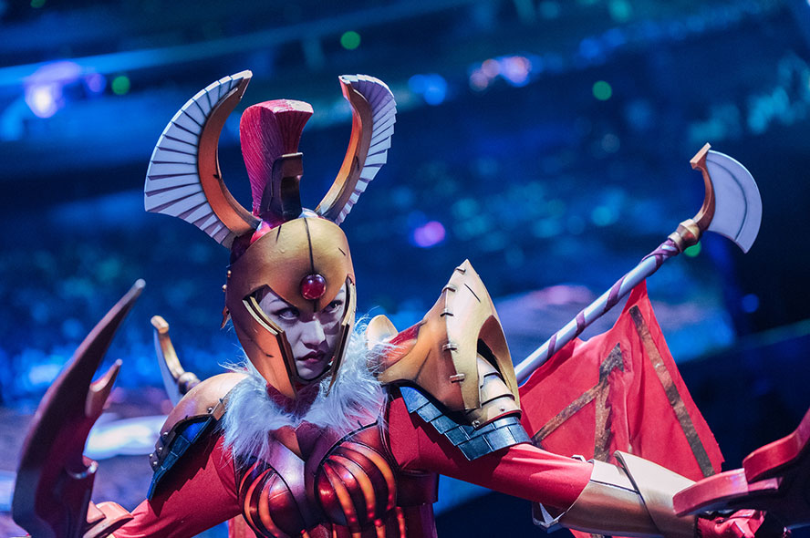 Cosplay Dota 2 tại The International 2019 - Hình ảnh 7
