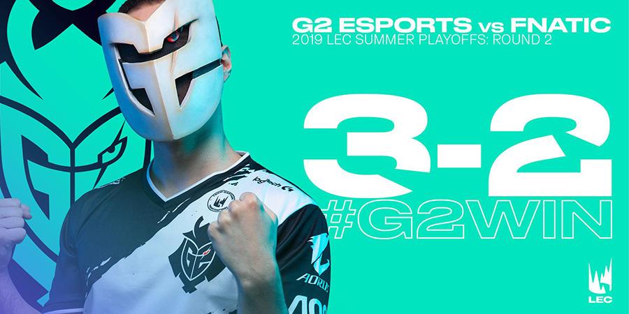 G2 tiến thẳng vào trận chung kết tổng sau màn lật kèo ngoạn mục.