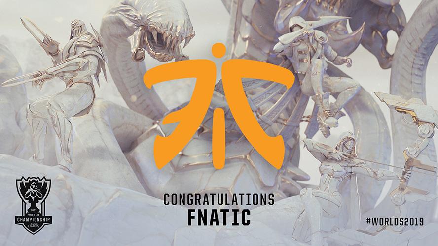 Fnatic đã chắc chắn có vé tham dự CKTG 2019.