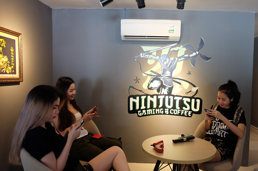Ninjutsu Gaming Coffee