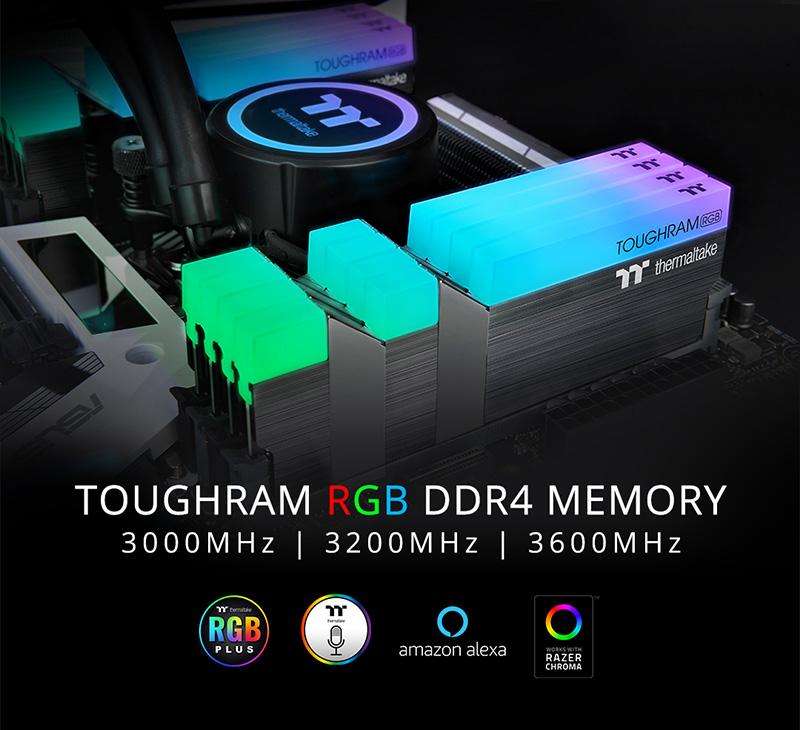 Thermaltake ra mắt TOUGHRAM RGB dành cho game thủ