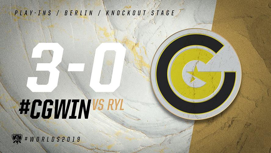 CG vs RYL
