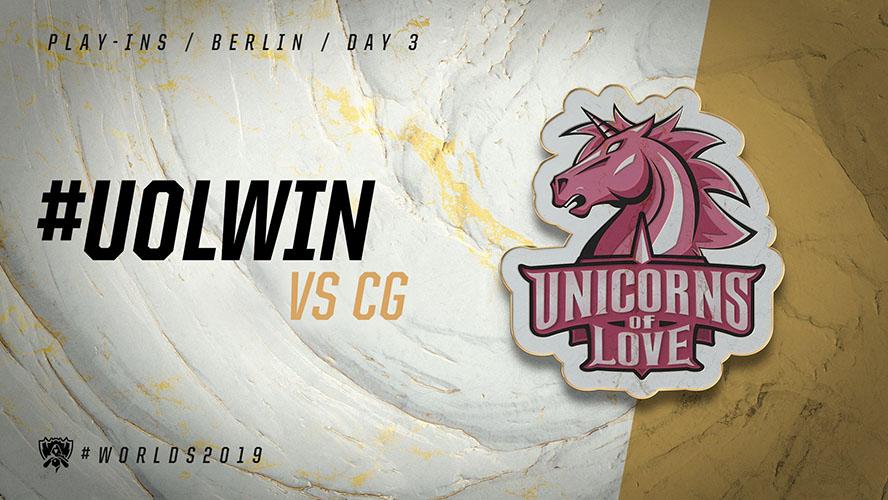 UOL vs CG - vòng khởi động cktg 2019 ngày 04/10/2019