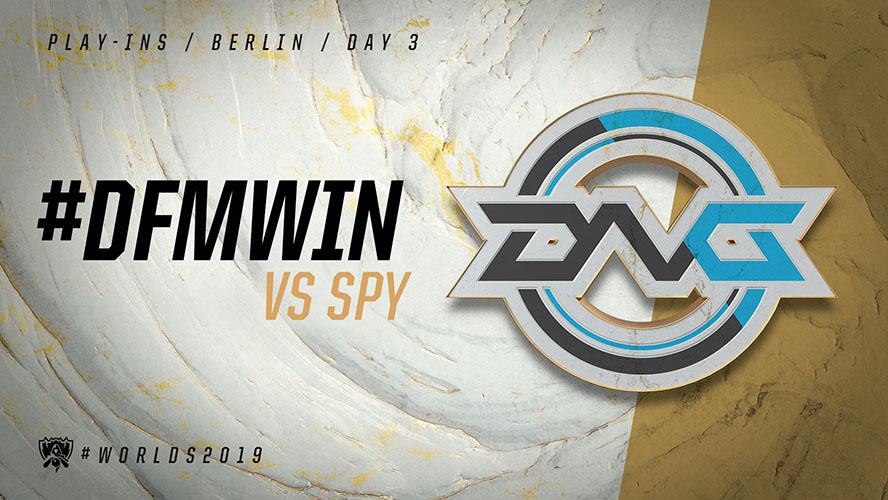 SPY vs DFM - vòng khởi động cktg 2019 ngày 04/10/2019