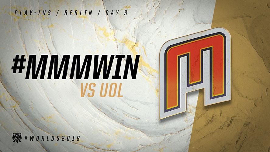 UOL vs MMM - vòng khởi động cktg 2019 ngày 04/10/2019