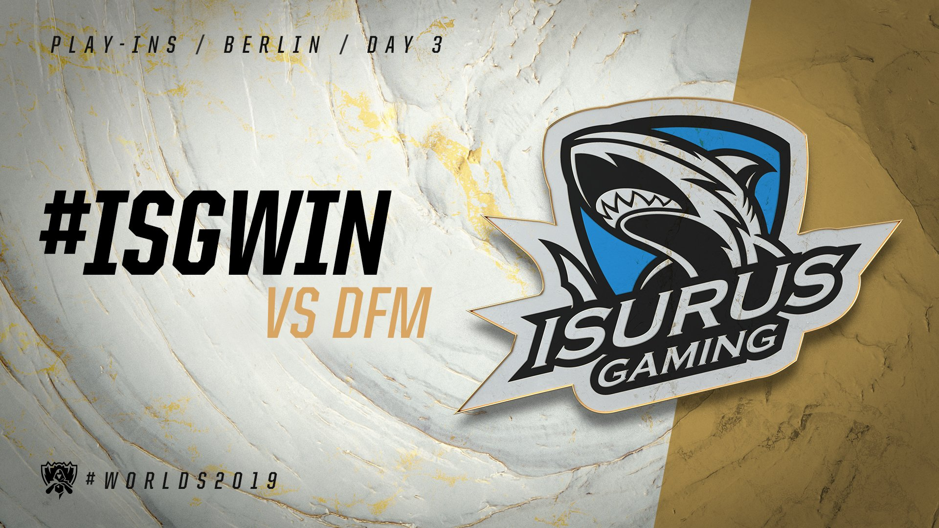 ISG vs DFM - vòng khởi động cktg 2019 ngày 04/10/2019