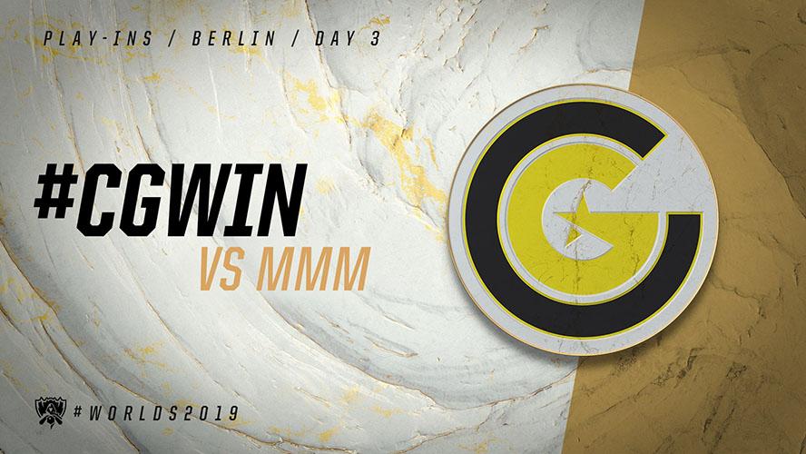 CG vs MMM - vòng khởi động cktg 2019 ngày 04/10/2019