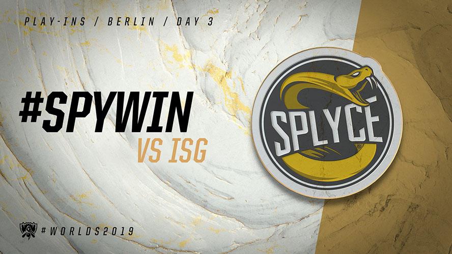 ISG vs SPY - vòng khởi động cktg 2019 ngày 04/10/2019