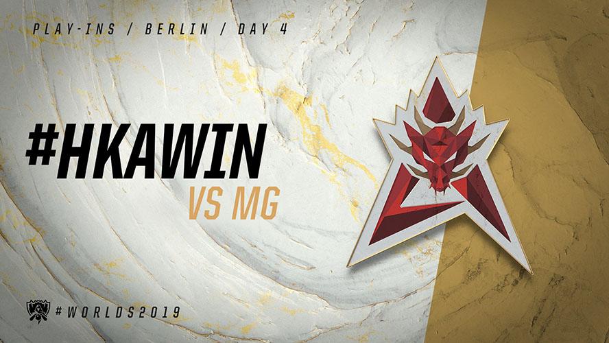 HKA vs MG - vòng khởi động cktg 2019 ngày 05/10/2019
