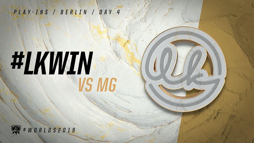 LK vs MG - vòng khởi động cktg 2019 ngày 05/10/2019