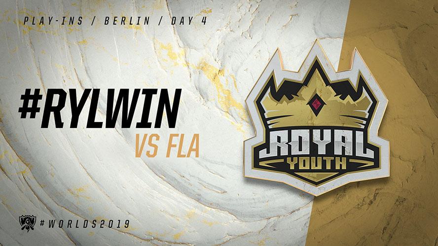 FLA vs RYL - vòng khởi động cktg 2019 ngày 05/10/2019