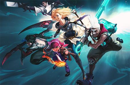 LMHT lên 10, Riot công bố loạt game online mới 6