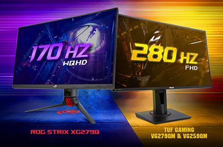 ASUS ra mắt màn hình có tần số quét lên đến 280Hz 1