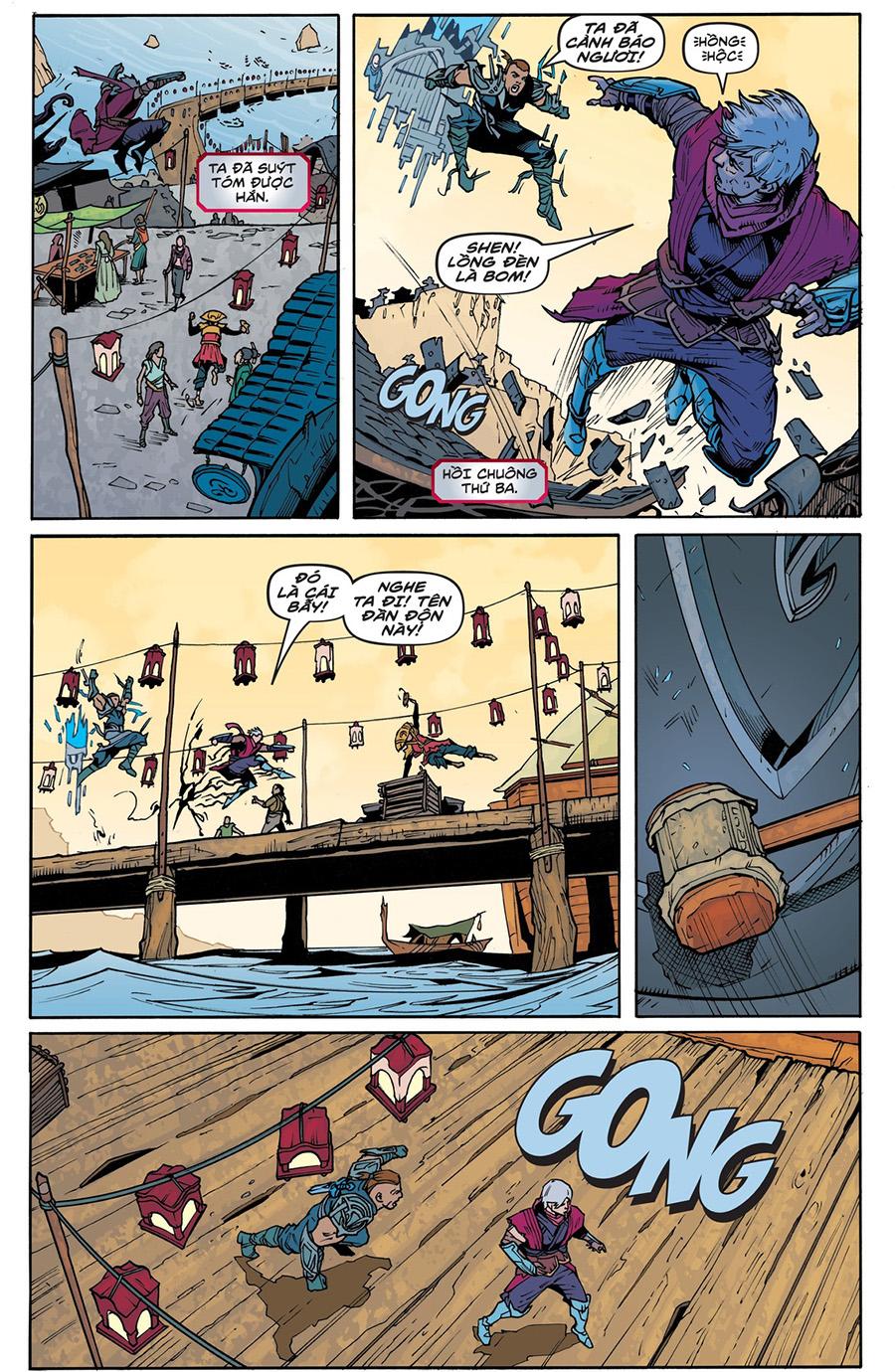 Truyện tranh Zed Kỳ 4 Trang 07