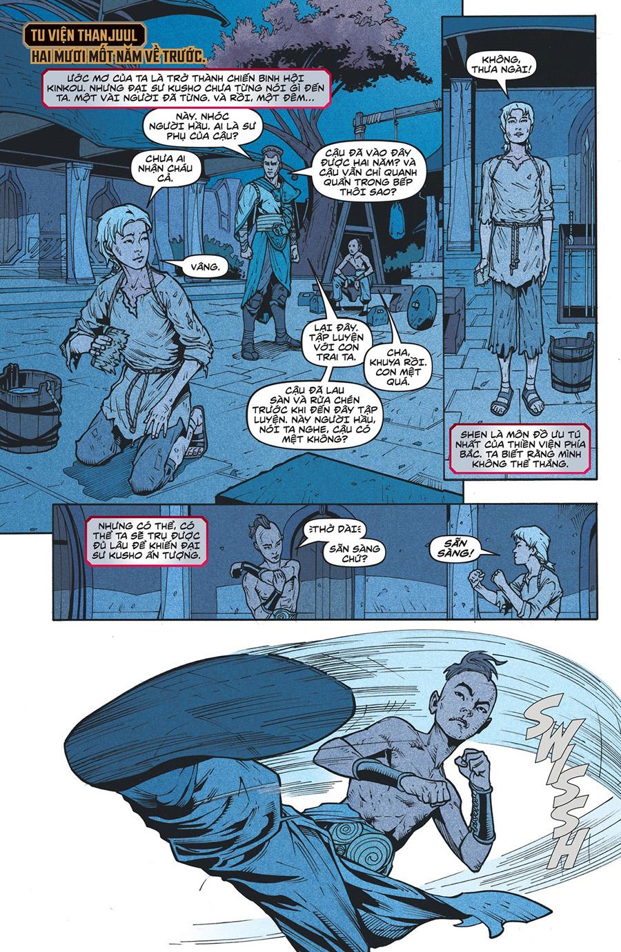 Truyện tranh Zed Kỳ 4 Trang 17