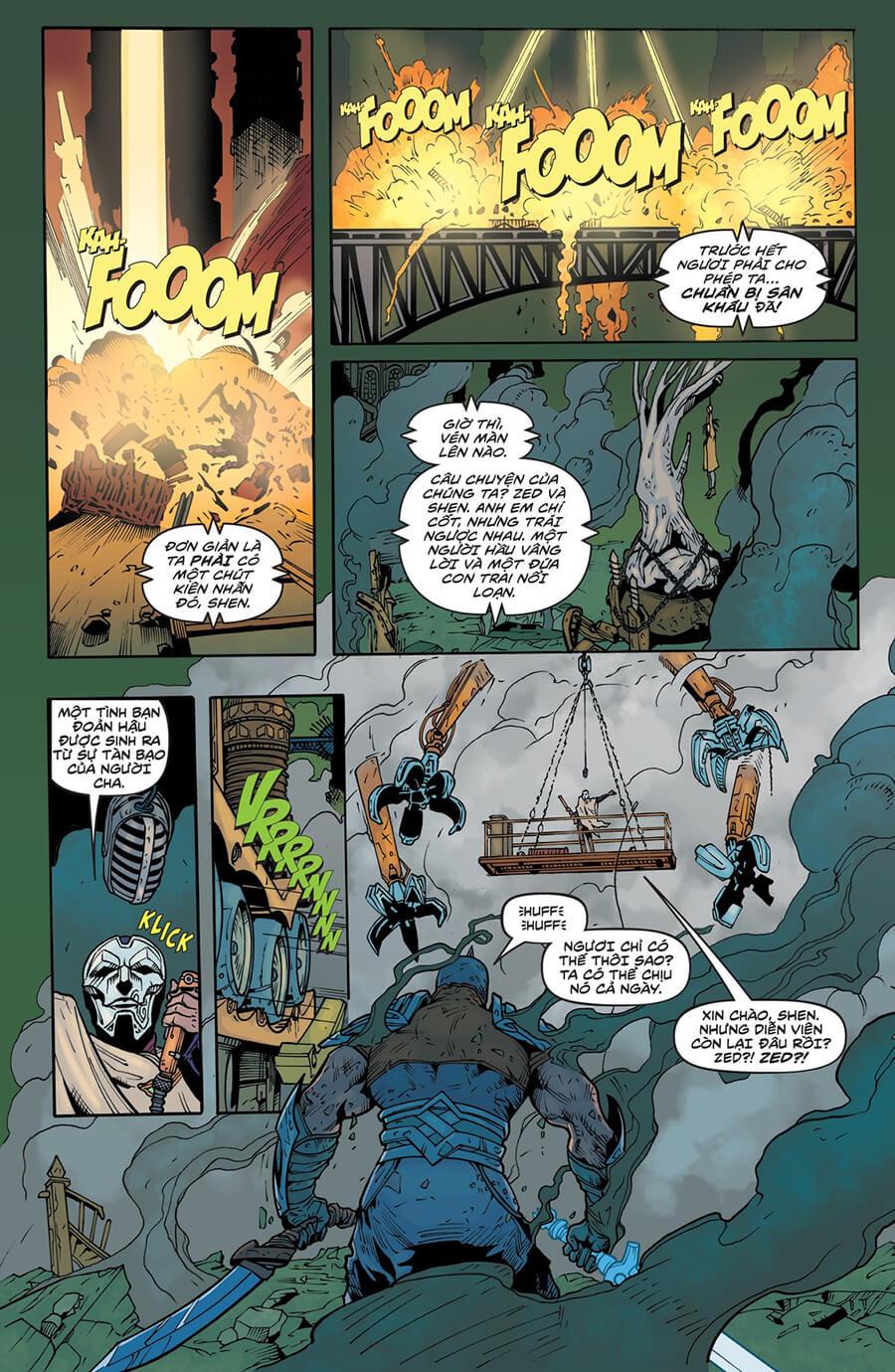 Truyện tranh Zed Kỳ 6 trang 07