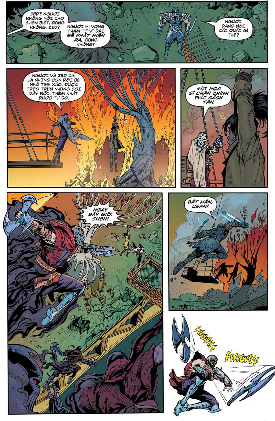 Truyện tranh Zed Kỳ 6 trang 08