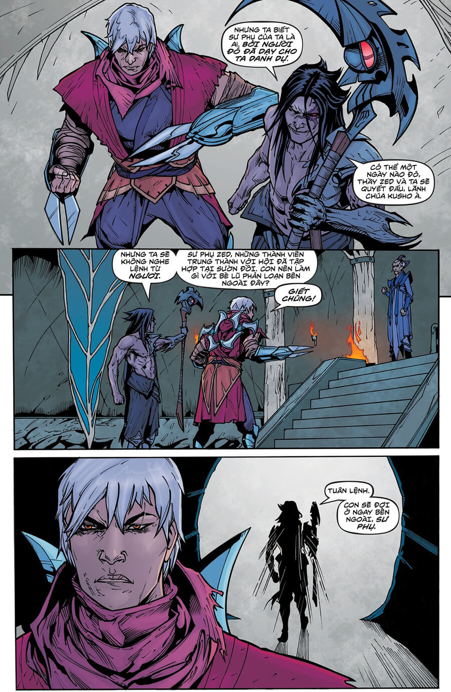 Truyện tranh Zed Kỳ 6 trang 17