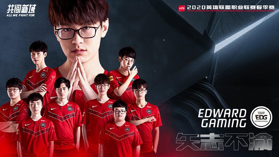Edward Gaming LPL Mùa Xuân 2020 Poster