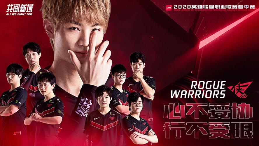 Rogue Warriors LPL Mùa Xuân 2020 Poster