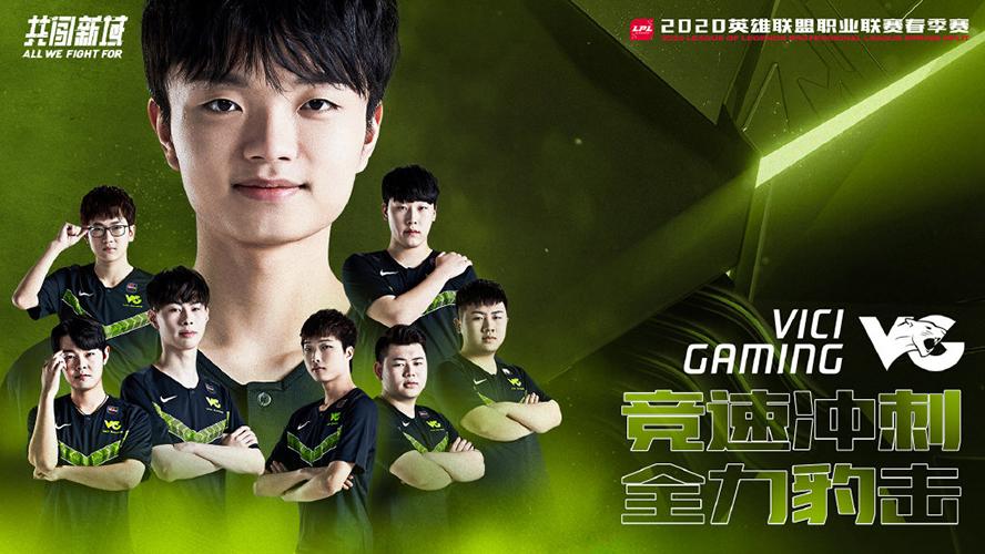 Vici Gaming LPL Mùa Xuân 2020 Poster