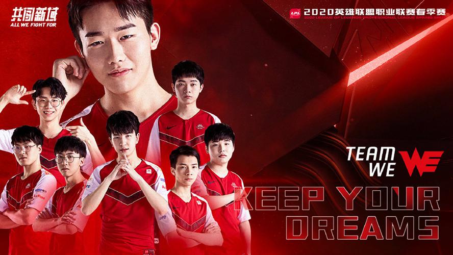 Team WE LPL Mùa Xuân 2020 Poster