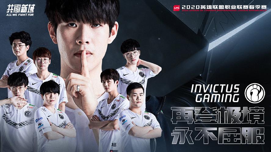 Invictus Gaming LPL Mùa Xuân 2020 Poster