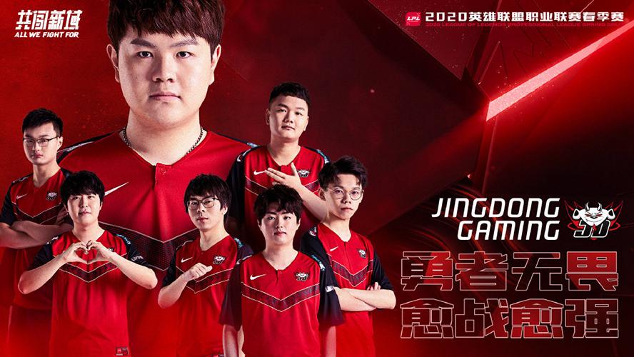 JD Gaming LPL Mùa Xuân 2020 Poster