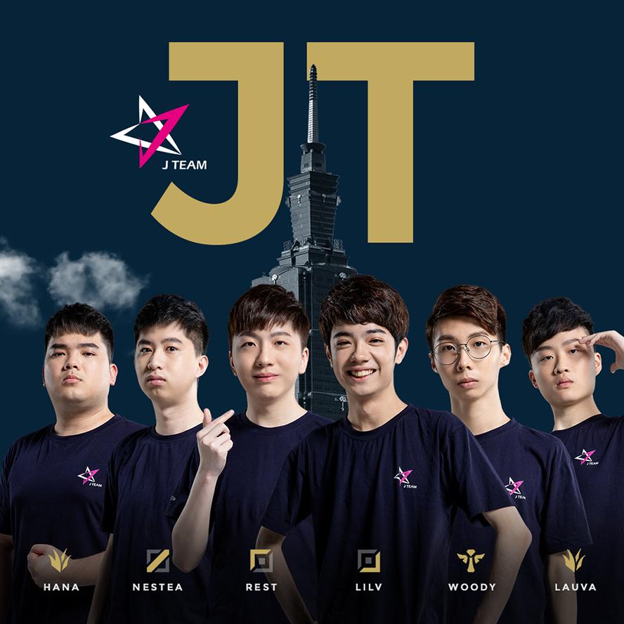 Đội hình tham dự PCS Mùa Xuân 2020 của J Team