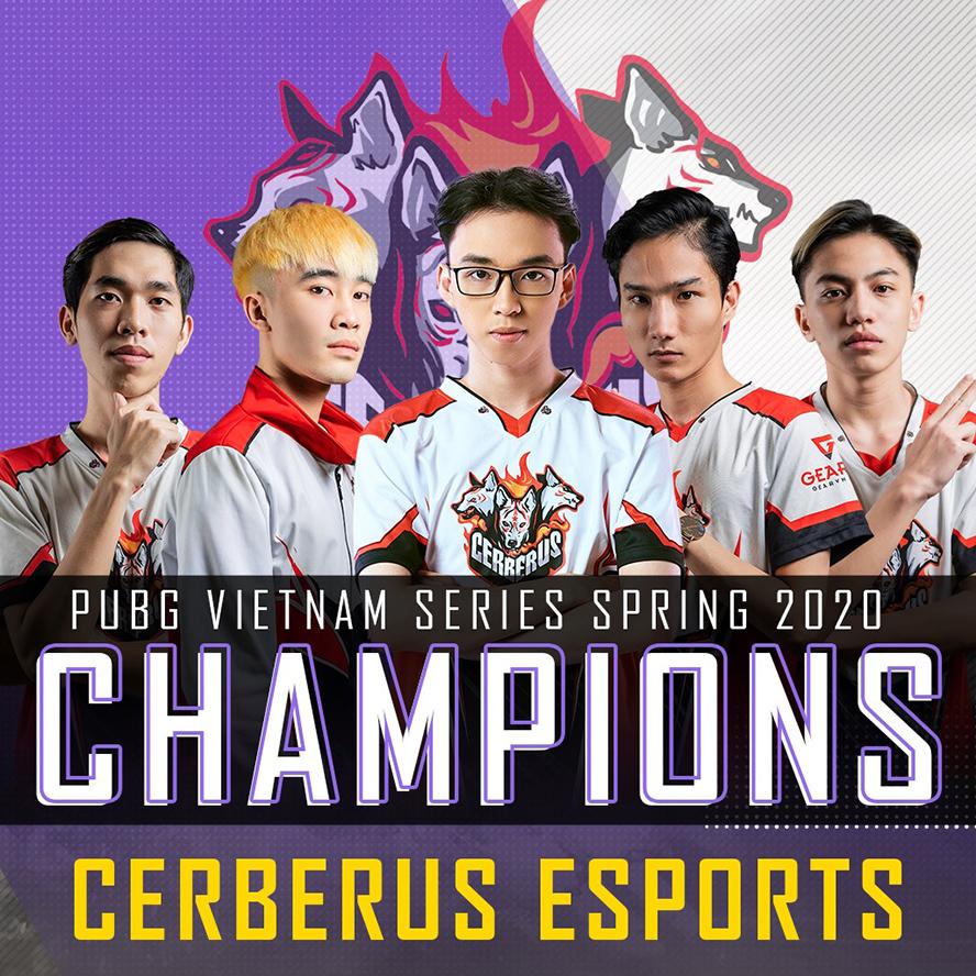 Cerberus Esports vô địch PVS Spring 2020