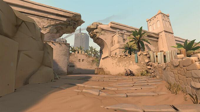 Bản đồ Bind trong Valorant - Hình ảnh 02