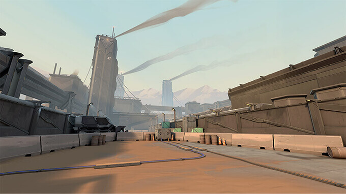 Bản đồ Bind trong Valorant - Hình ảnh 03