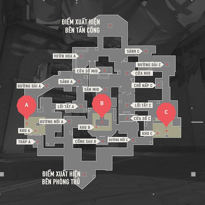 Bản đồ Haven trong Valorant - Hình ảnh 01
