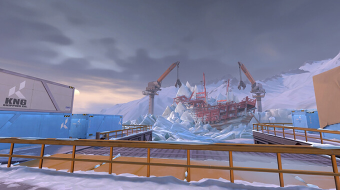 Bản đồ Icebox trong Valorant - Hình ảnh 8