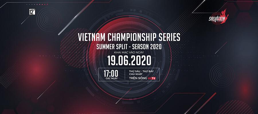 Lịch thi đấu vòng bảng VCS Mùa Hè 2020