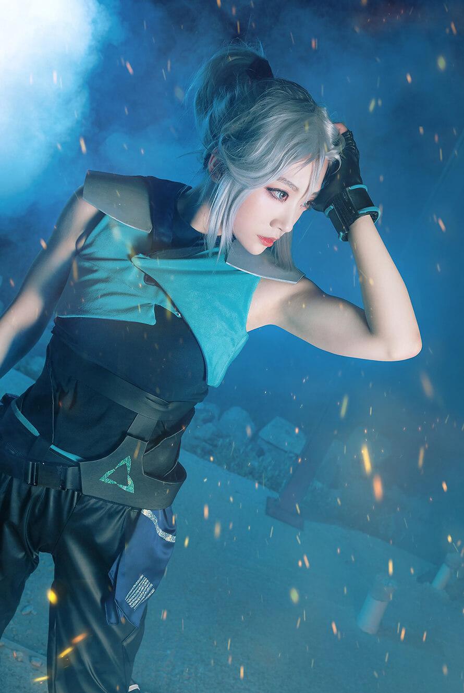 Ngất ngây trước loạt cosplay Jett Valorant tuyệt đẹp của Miyuko - Hình ảnh 6