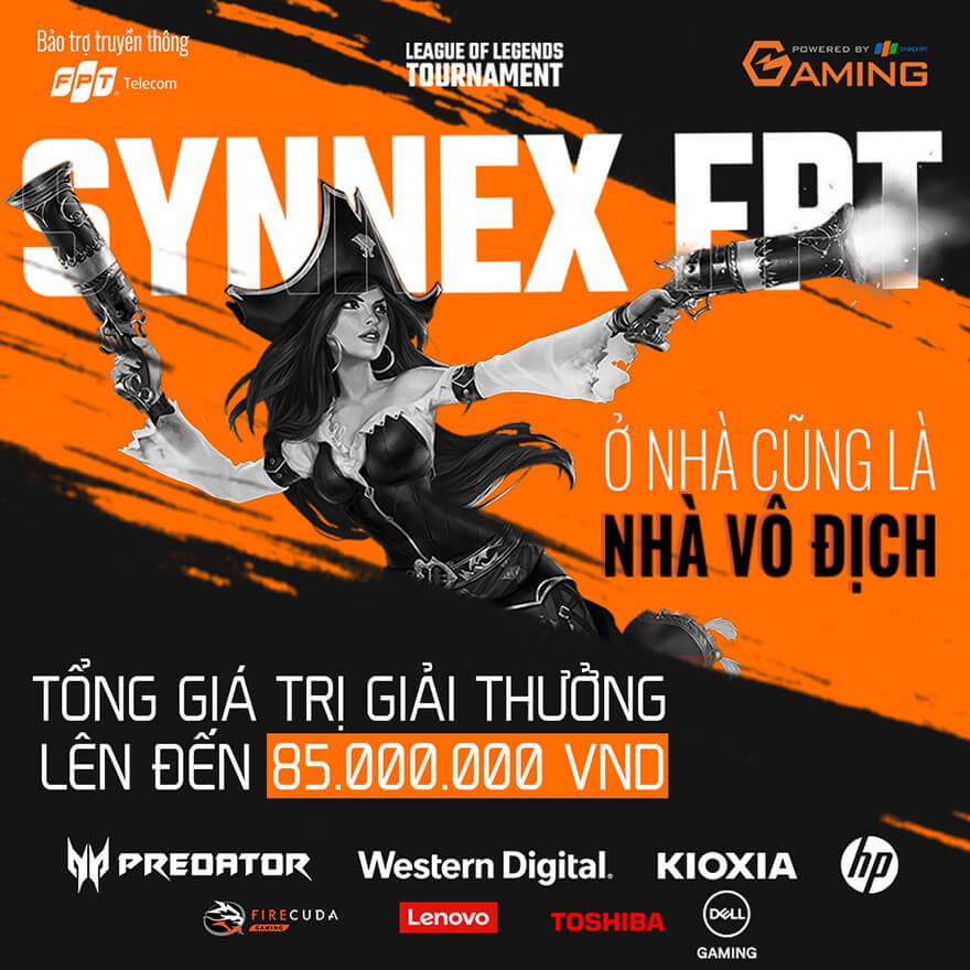 Synnex FPT công bố giải đấu Liên Minh Huyền Thoại trị giá 85 triệu